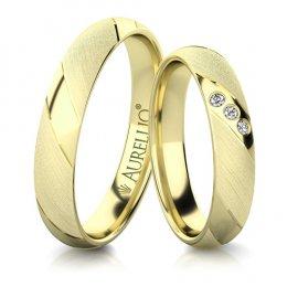 Snubní prsteny - Poddajné PLUTO