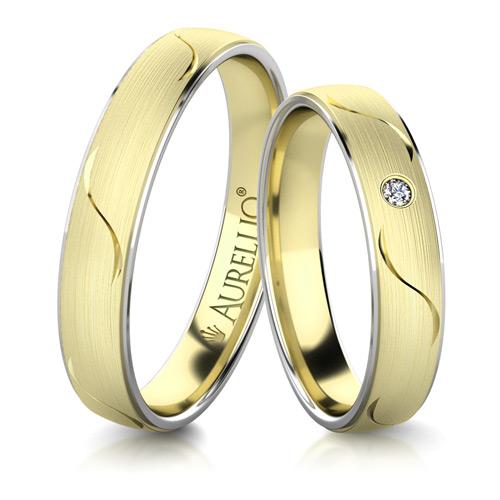 Snubní prsteny - Harmonické SLUNCE 1. fotka