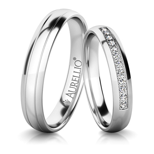 Snubní prsteny - Citlivý URAN 1. fotka