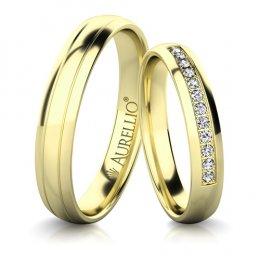 Snubní prsteny - Citlivý URAN