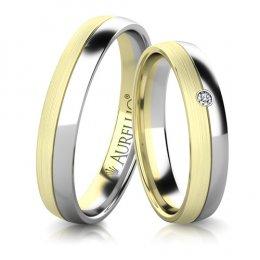 Snubní prsteny - Pevný MARS