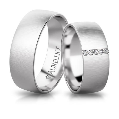 Snubní prsteny - Opásaný MARS 1. fotka