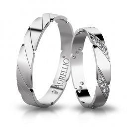 Snubní prsteny - Magnetický MARS