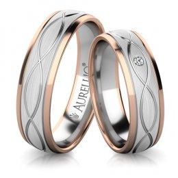 Snubní prsteny - Pulzující SLUNCE