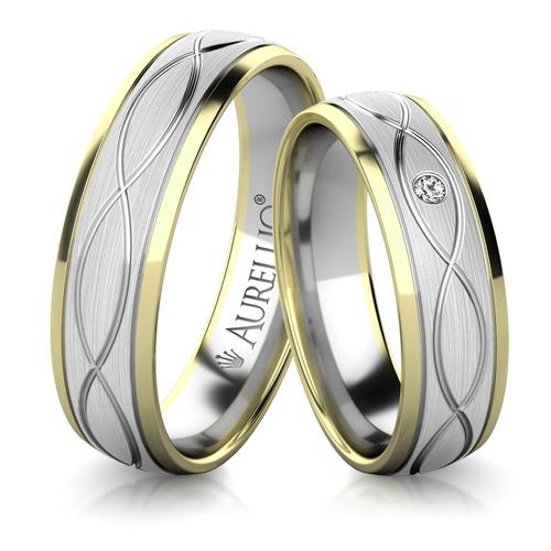 Snubní prsteny - Pulzující SLUNCE 1. fotka