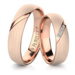 Snubní prsteny - Zkosený JUPITER