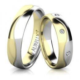 Snubní prsteny - Nádherná VENUŠE