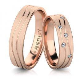 Snubní prsteny - Šlechetný MARS