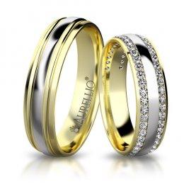 Snubní prsteny - Jiskřivý JUPITER