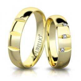 Snubní prsteny - Energický JUPITER