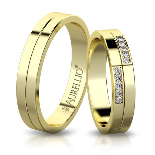 Snubní prsteny - Kontrastní JUPITER 1. fotka
