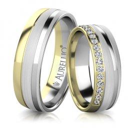 Snubní prsteny - Silný MARS
