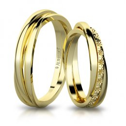 Snubní prsteny - Skvostný URAN