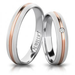 Snubní prsteny - Bouřící SATURN