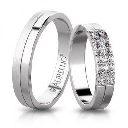 Snubní prsteny - Dvoubarevný JUPITER