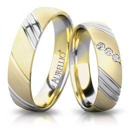 Snubní prsteny - Hřejivé SLUNCE
