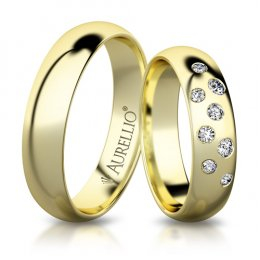 Snubní prsteny - Kamenný MERKUR