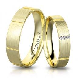 Snubní prsteny - Matný MARS