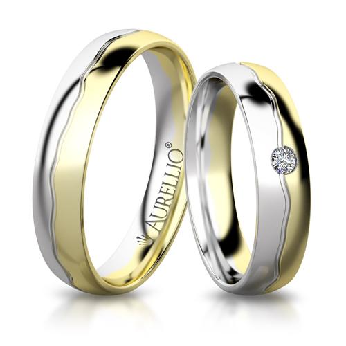 Snubní prsteny - Rozevlátá VENUŠE 1. fotka