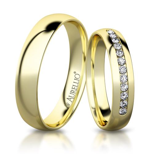 Snubní prsteny - Smyslný MERKUR 1. fotka