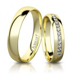 Snubní prsteny - Smyslný MERKUR