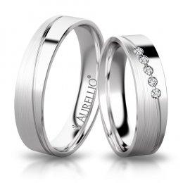 Snubní prsteny - Rozechvělá Venuše