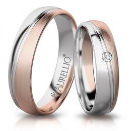 Snubní prsteny - Zapadající SLUNCE