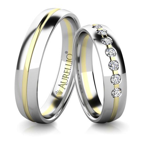 Snubní prsteny - Červánkový NEPTUN 1. fotka