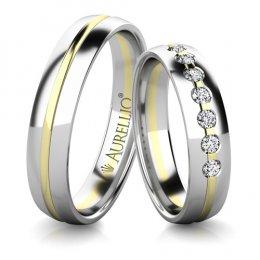 Snubní prsteny - Červánkový NEPTUN