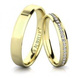 Snubní prsteny - Rozzářené PLUTO