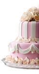 Svatební dort a pečivo