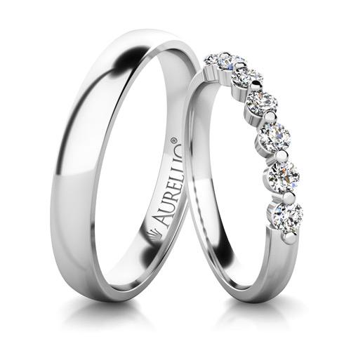 Snubní prsteny - Pohádková VENUŠE - 7 kamenů 1. fotka